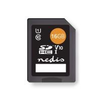 Carte mémoire | SDHC | 16 GB | Jusqu'à 80 Mbit/s en Écriture | Class 10