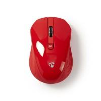 Souris sans fil   800 / 1200 / 1600 ppp   3 boutons   Rouge