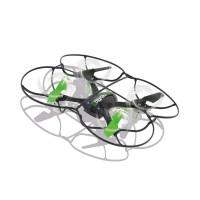 Drone Radiocommandé MotionFly G-Sensor Compass Turbo Flip Contrôle de 2,4 GHz Noir/Vert