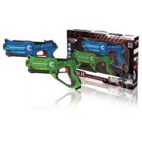 Assortiment pour Bataille Laser Bleu/Vert