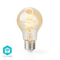 Ampoule à Filament LED Blanc Chaud à Blanc Froid Wi-Fi   Torsadée   E27   A60   5,5 W   350 lm