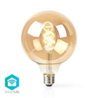 Ampoule à Filament LED Blanc Chaud à Blanc Froid Wi-Fi   Torsadée   E27   G125   5,5 W   350 lm