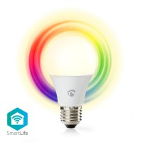 Ampoule LED Intelligente Wi-Fi   Pleine Couleur et Blanc Chaud   E27