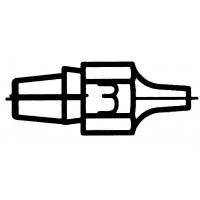 Panne à Souder 2.5/1.2 mm WEL.DSX80