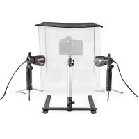 Kit de Studio Photo LED | 40 x 40 cm | 6500 K | Repliable