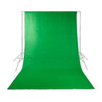 Toile de fond pour Studio Photo | 2,95 x 2,95 m | Vert