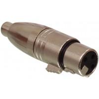 3p XLR femelle - RCA adaptateur femelle