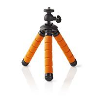 Mini Trépied   Max. 0,5 kg   13 cm   Flexible   Noir/Orange