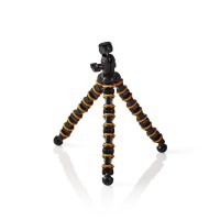 Mini Trépied   Max. 2,5 kg   30,0 cm   Flexible   Noir/Orange