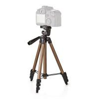 Trépied   Fonction Panoramique et Inclinaison   Max. 1,5 kg   105 cm   Noir/Argent