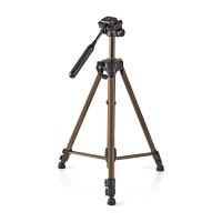 Trépied   Fonction Panoramique et Inclinaison   Max. 3 kg   145 cm   Bronze