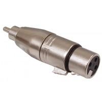 3p XLR femelle - RCA adaptateur mâle