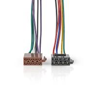 Câble ISO Standard   Connecteur Radio - 2x connecteurs pour Voiture   0,15 m   Multicouleur