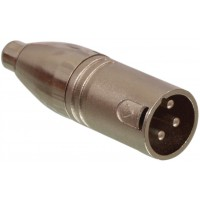 Cable RCA male 3 broches - adaptateur XLR male 3 broches