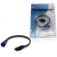 Brosse flexible pour radiateur ø 30 - 36 mm