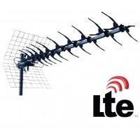 Antenne UHF à 13 éléments avec filtre LTE