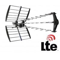 Antenne UHF 27 éléments avec filtre LTE