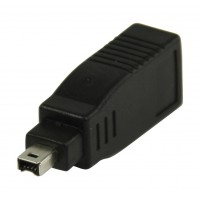 Adaptateur FireWire 6 broches femelle vers 4 broches mâle