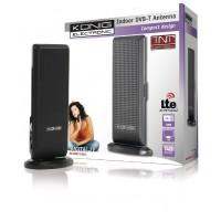 Antenne TNT conception d'intérieur avec filtre LTE noir
