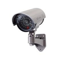 Caméra de Sécurité Factice | Tube | IP44 | Gris