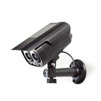 Caméra de Sécurité Factice | Tube | IP44 | Noir