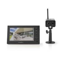Kit de Surveillance Numérique sans Fil | 2,4 GHz | 1 Caméra | Affichage sans Fil