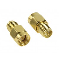 Adapter RP SMA female - SMA male 2 pieces