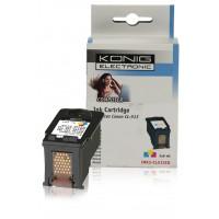Cartouche d'encre compatible Canon CL-513 couleur (3x 6 ml)