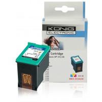 Cartouche compatible imprimante HP 350XL CMY (3x 5 ml)