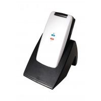 Téléphone mobile 2.4'' Noir/Blanc