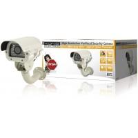Caméra de sécurité à focale variable à haute résolution à 35 diodes IR