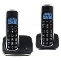 Téléphone DECT Noir/Argent