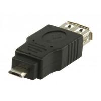 Adaptateur USB 2.0 USB A femelle –micro USB B mâle