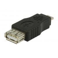 Port USB 2.0 USB A femelle – adaptateur micro USB A mâle