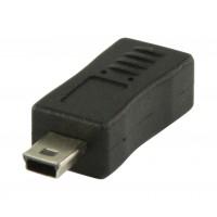 Port USB 2.0 micro USB B femelle – adaptateur mini USB à 5 broches mâle