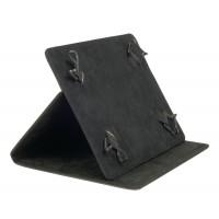 """Etui de protection pour tablette Portfolio 7"""" Universel Noir"""