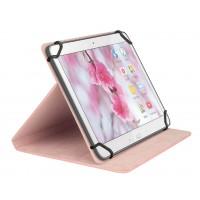 """Etui de protection pour tablette Portfolio 7"""" Universel Rose"""