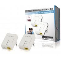 Kit adaptateur nano : CPL 500 Mbps