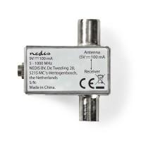 Adaptateur d'Alimentation CATV   DVB-T   5 - 1 000 MHz   Atténuation : 1,5 dB