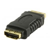 Coupleur HDMI noir, Entrée HDMI - Entrée HDMI