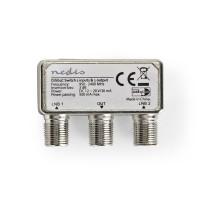 Commutateur DiSEqC   2 à 1   Connecteur F   950 - 2 400 MHz