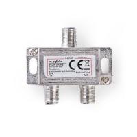 Coupleur Satellite | 2 à 1 | Connecteur F | VHF/UHF : 5 - 860 MHz | Satellite : 950 - 2 400 MHz