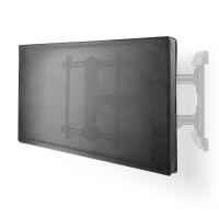 Housse pour Écran TV d'Extérieur   55 - 58 pouces   Tissu Oxford de Qualité Supérieure   Support pour Télécommande   Noir