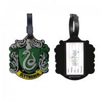 Porte étiquette pour bagage - Logo Maison Serpentard - Harry Potter