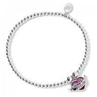 Bracelet à perles Filtre d'Amour - Argent 925ème avec Cristaux de Swarovski - Harry Potter