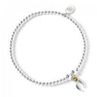 Bracelet à perles Vif d'Or - Argent 925ème avec Cristaux de Swarovski - Harry Potter