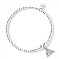 Bracelet à perles Les Reliques de la Mort - Argent 925ème avec Cristaux de Swarovski - Harry Potter