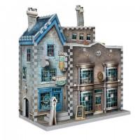 Boutiques Ollivander et Scribbulus - puzzle 3D Wrebbit - Harry Potter