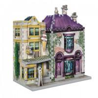 Boutiques Madame Guipure et Florean Fortescue - puzzle 3D Wrebbit - Harry Potter