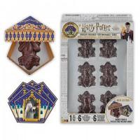 Moule à Chocogrenouille en chocolat + 6 boîtes Chocogrenouille + 12 cartes des sorciers - Harry Potter